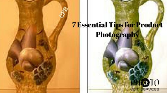 7 Essential Tips for Product Photography
